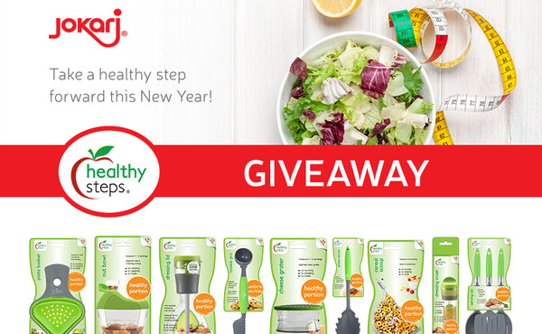 Jokari Healthy Steps New Year's Giveaway