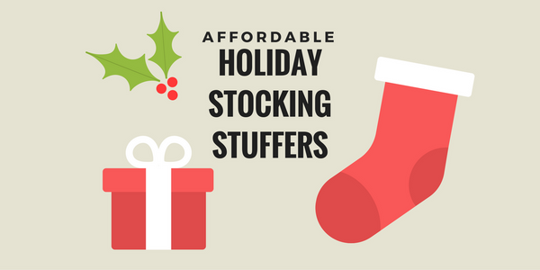 Affordable Holiday Stocking Stuffers