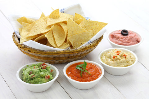Chips with four dips