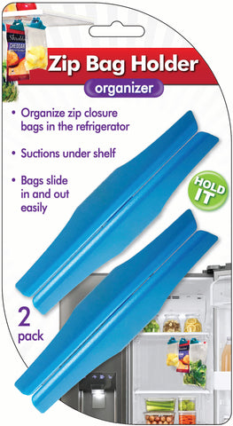 Zip Bag Holder, 2-pack