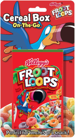Kellogg's Froot Loops Cereal Box