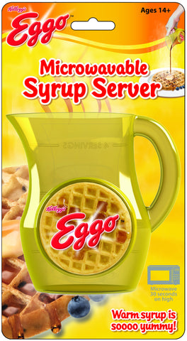 Kellogg's Eggo Microwaveable Syrup Server