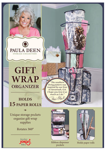 Gift Wrap Organizer- Paula Deen Everyday