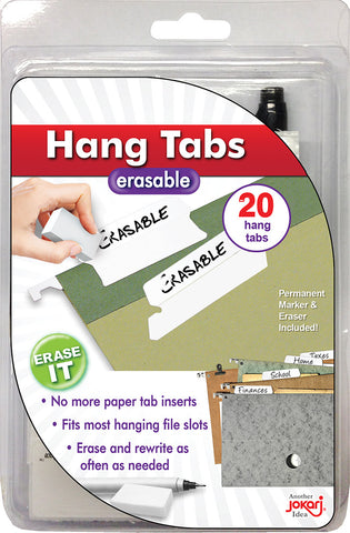 Erasable Hang Tabs
