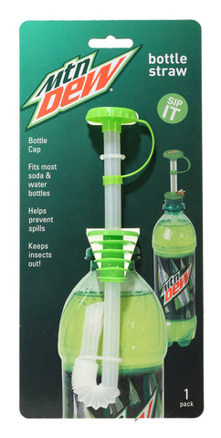 Bottle Straw 1 pk - Mountain Dew