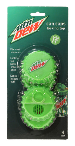 Can Caps 4 pk - Mountain Dew