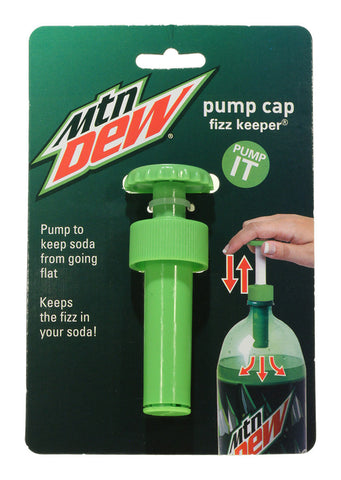Pump Cap - Mountain Dew