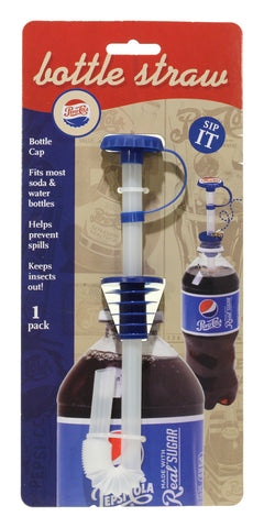 Bottle Straw 1 pk - Pepsi Heritage