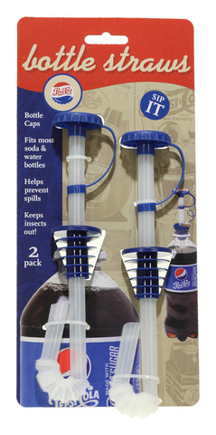Bottle Straws 2 pk - Pepsi Heritage