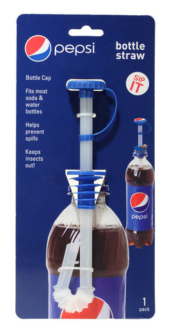 Bottle Straw 1 pk - Pepsi Modern