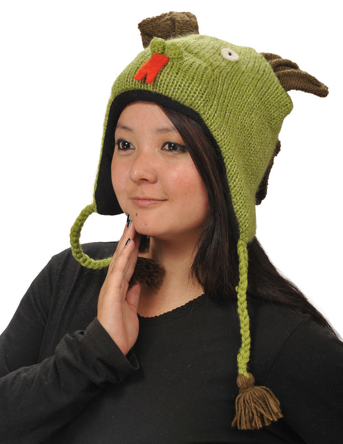 Dragon Woolen Animal Hat
