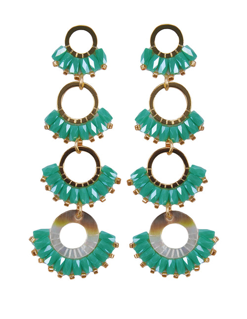 Layered Drop Earrings