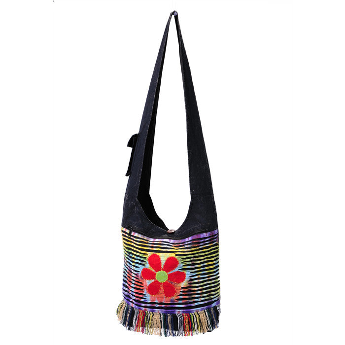 Spring Fringe Hobo Bag