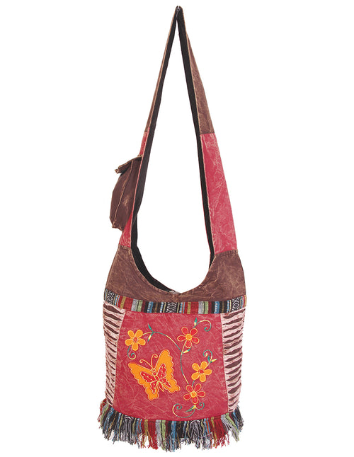 Butterfly & Vines Hobo Bag