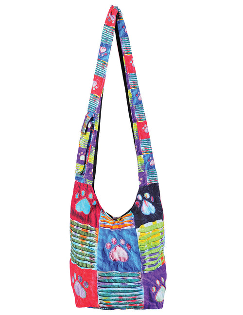 Printed Paws Hobo Bags