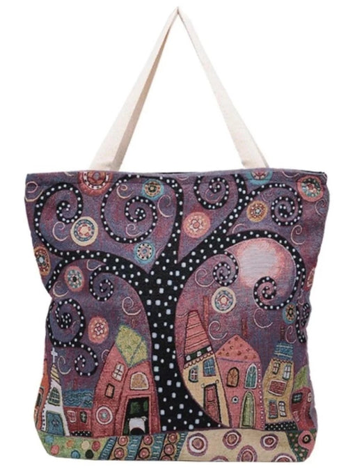 Mystery City Tote