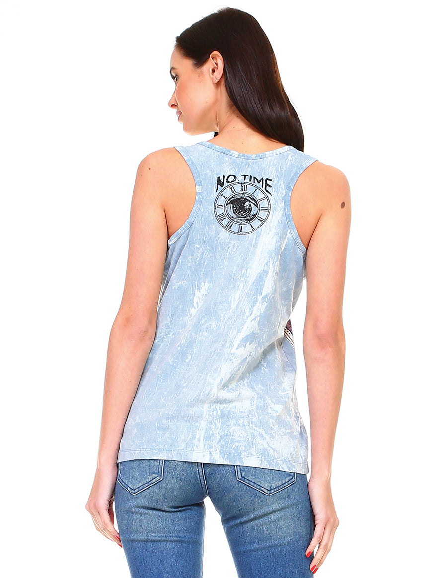 Live by the Sun Love by the Moon Cotton Tank