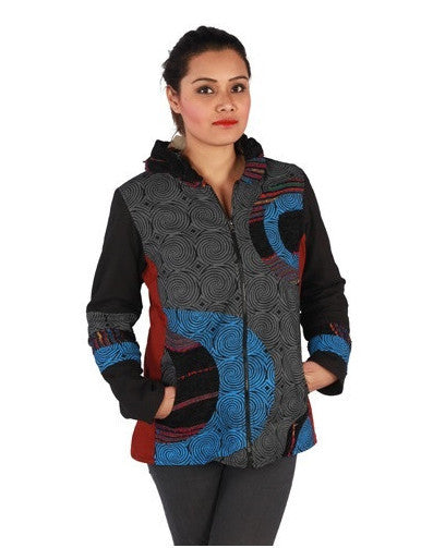 Spiral Waves Jacket
