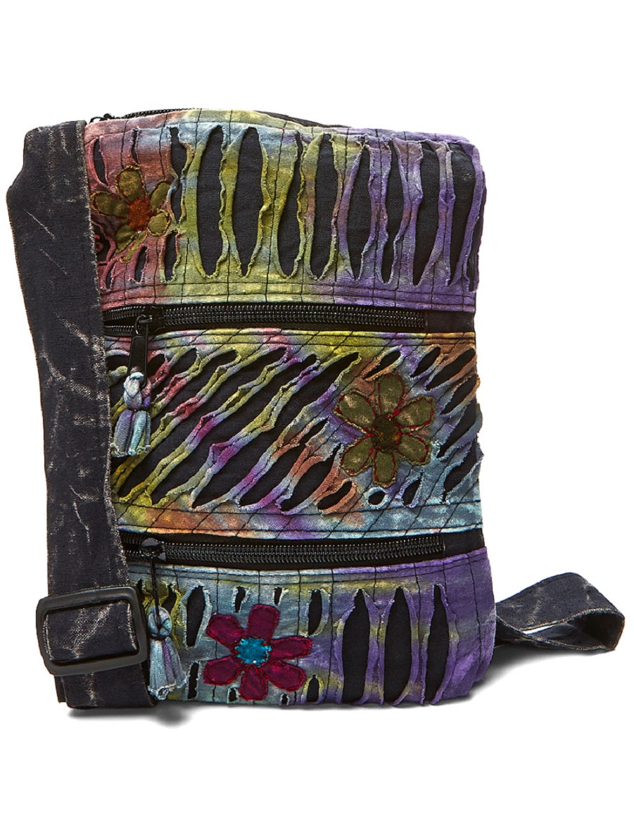 Flower Patch Cross Body Bag