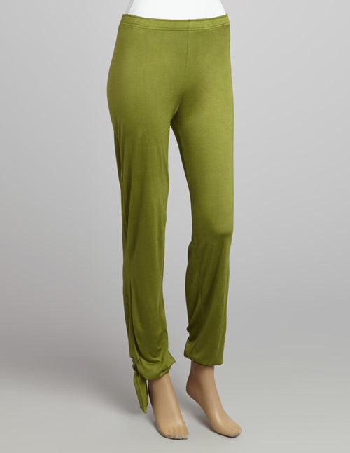 Ankle Tie Viscose Yoga Pants