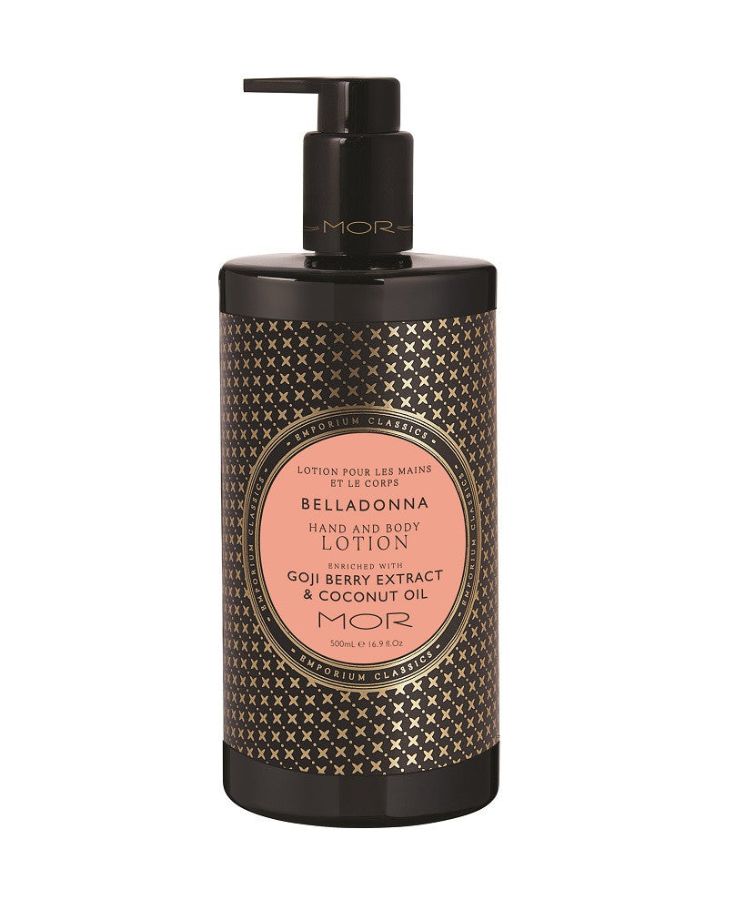Belladonna Hand & Body Lotion 500ml