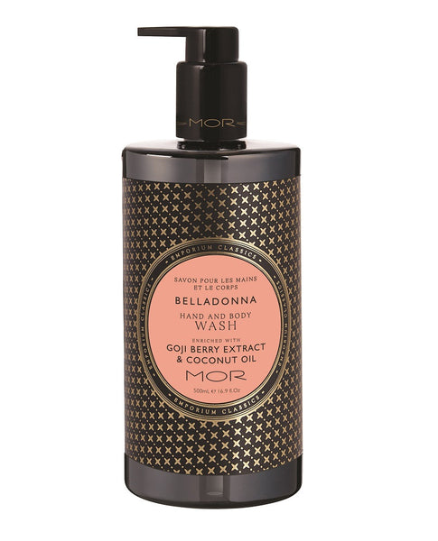 Belladonna Hand & Body Wash 500ml