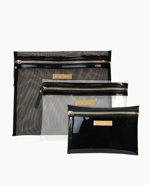 Melbourne Cosmetic Purse Trio