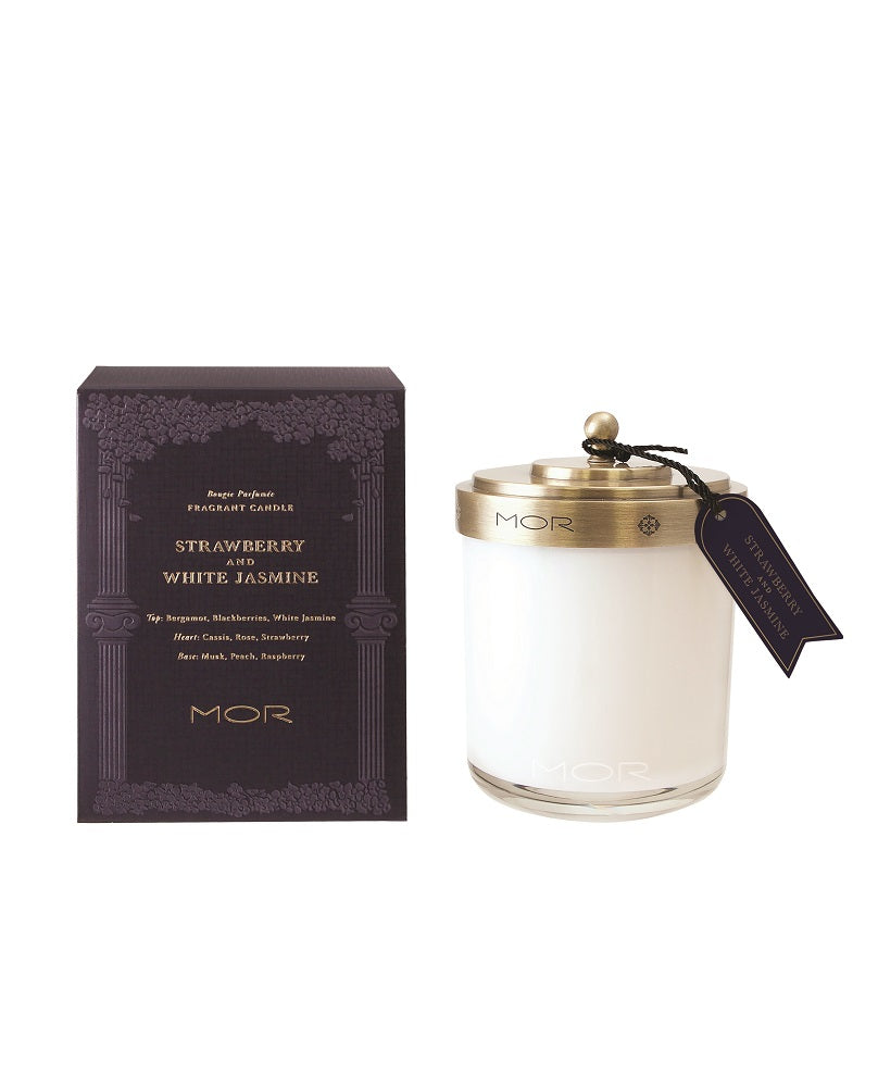 Strawberry & White Jasmine Fragrant Candle