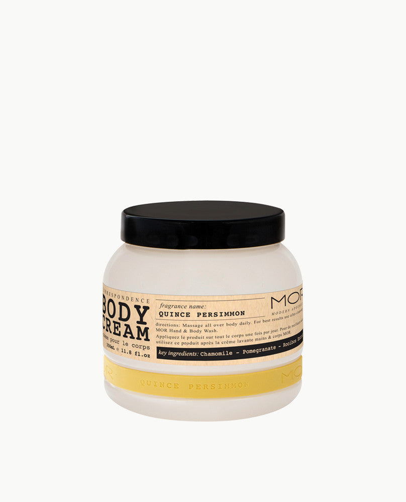 Quince Persimmon Body Cream