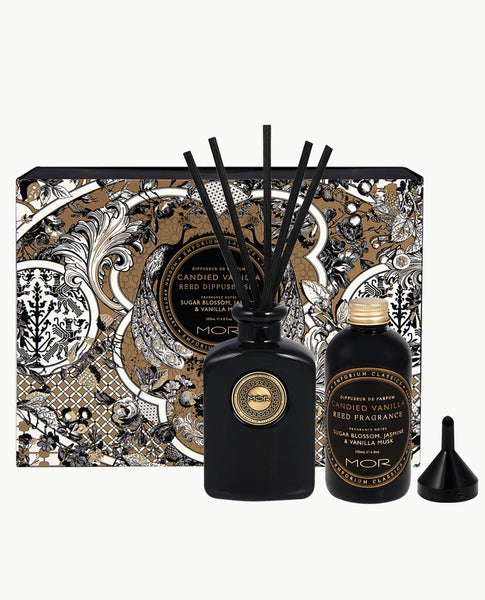 Candied Vanilla Reed Diffuser Set