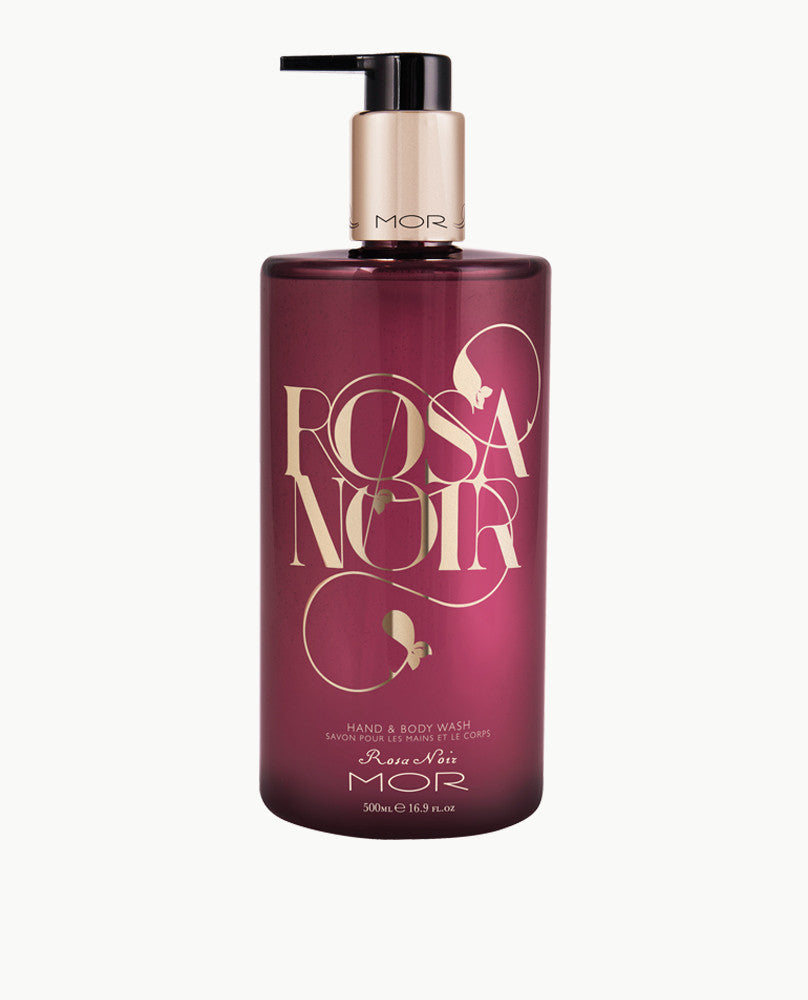 Rosa Noir Hand & Body Wash