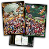Star Trek The Next Generation 30th Anniversary Official 3 print set limited edition of 1800 pieces