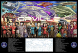"The Orville 40""x27"" Poster print"