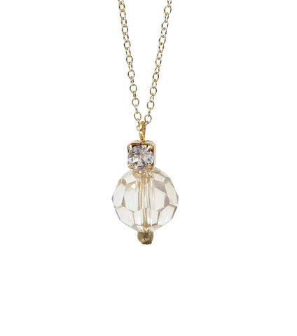 Crystal And Rhinestone Pendant Necklace, Necklace - Katherine Swaine