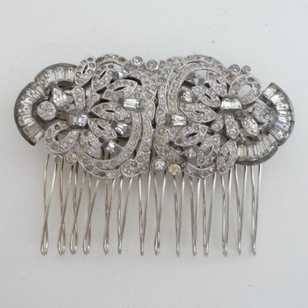 Vintage Art Deco Hair Comb *SOLD*, Hair Comb - Katherine Swaine