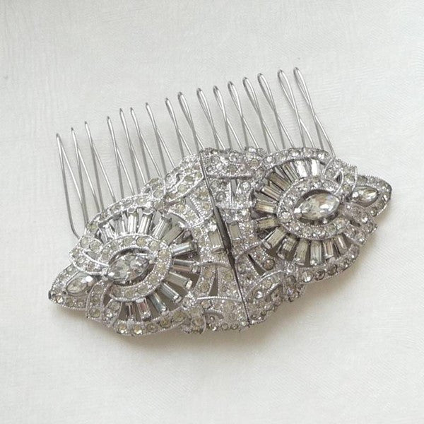 Vintage Ornate Coro Hair Comb *SOLD, Hair Comb - Katherine Swaine