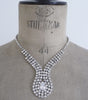 Vintage Diamante Necklace, Necklace - Katherine Swaine