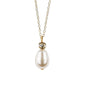 Vintage Inspired Tear Drop Necklace, Necklace - Katherine Swaine