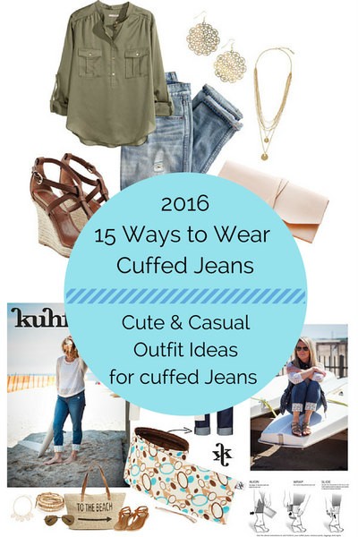 15 Ways to Wear Cuffed Jeans