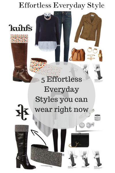 5 Everyday Effortless Styles you can wear right now