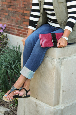 Kuhfs | Womens fashion accessory | Lincoln Park Clutch