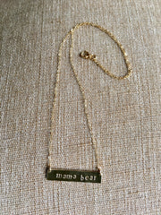 Kuhfs Mama Bear Necklace | women's fashion accessory online boutique
