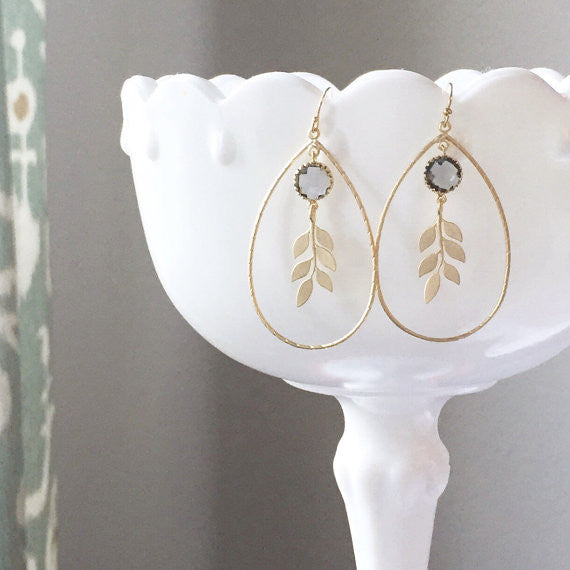 Willow Tear Drop Earrings