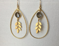 Kuhfs | Willow Teardrop Earrings | Women's fashion accessory boutique