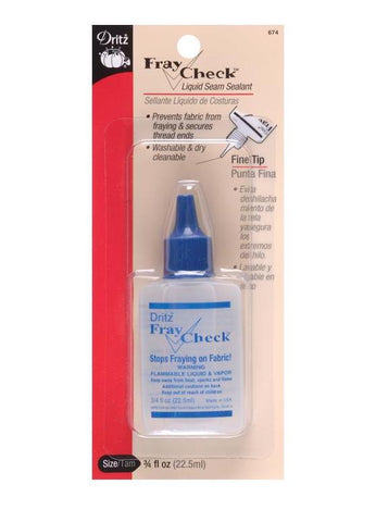 Fray Check - Liquid Seam Sealant