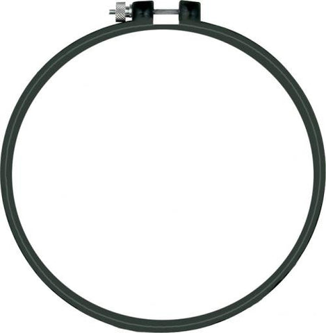 "6"" Black Plastic Embroidery Hoop"