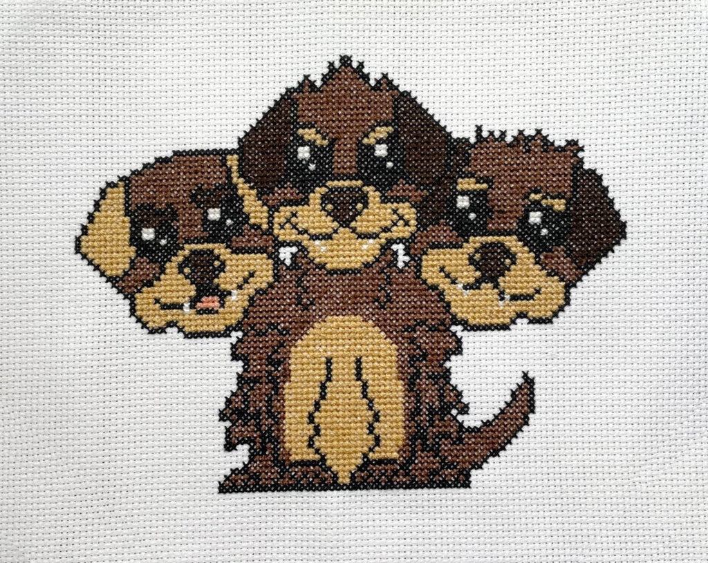 Cerberus Counted Cross Stitch Pattern DIGITAL Download
