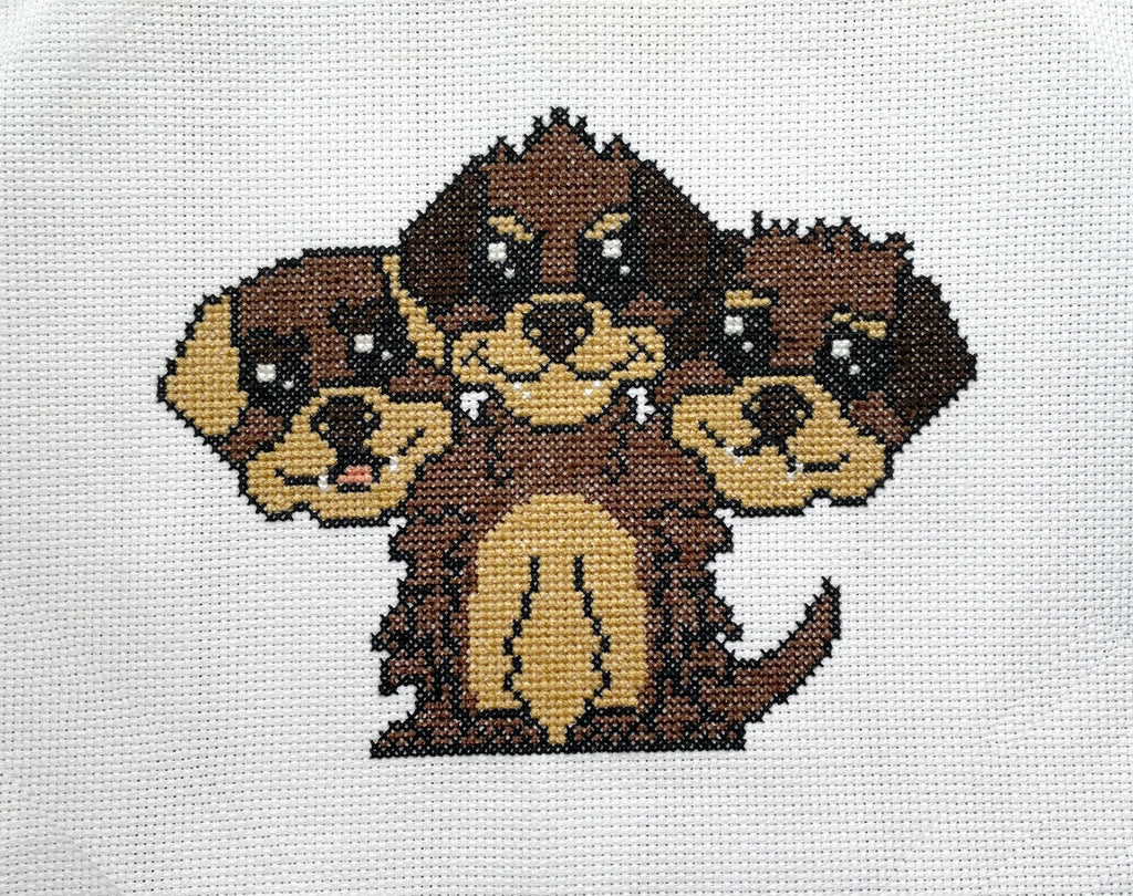 Cerberus Counted Cross Stitch DIY KIT