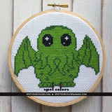 Cryptid Collection Book 6 pattern Counted Cross Stitch PDF DOWNLOAD Intermediate