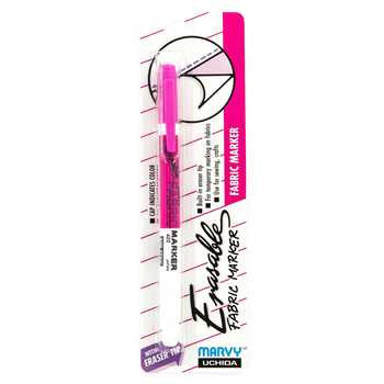 Pink Erasable Fabric Marker